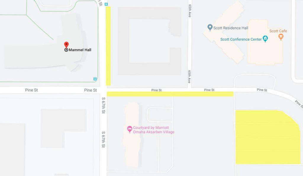 Mammel Hall Map