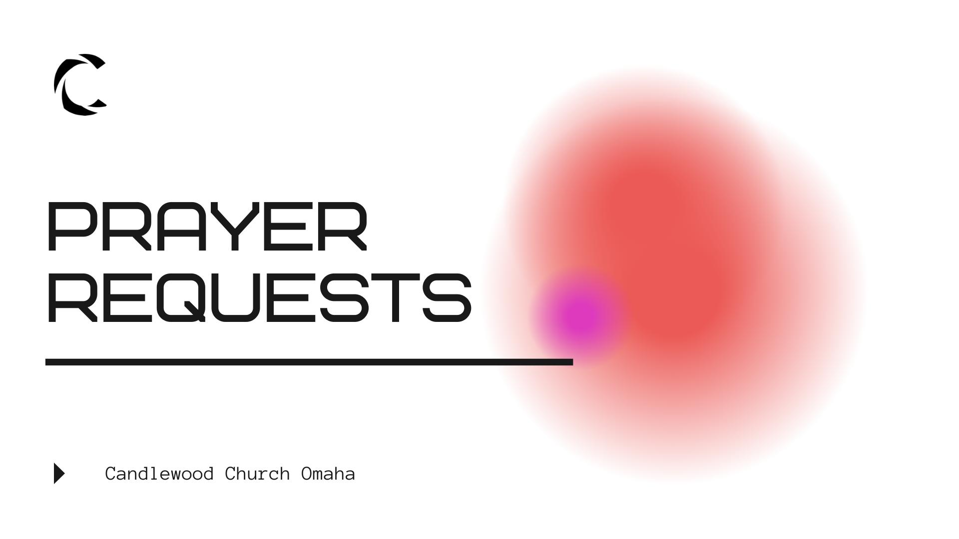 coronavirus prayer requests